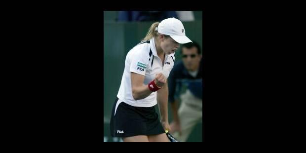 Kim Clijsters en huitièmes de finale - La Libre