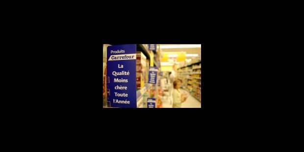 Carrefour grignote du terrain - La Libre