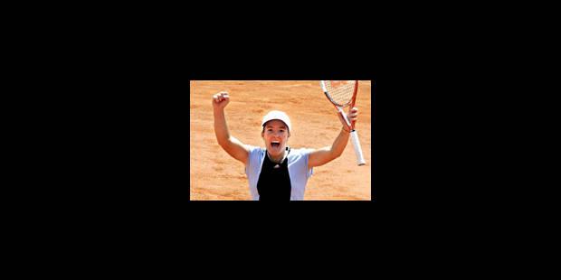 Le Paris gagné de Justine Henin - La Libre