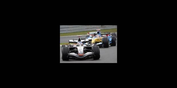 Victoire de Raikkonen devant Alonso - La Libre