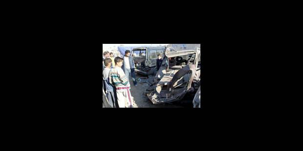 Deux attaques sanglantes en Irak - La Libre