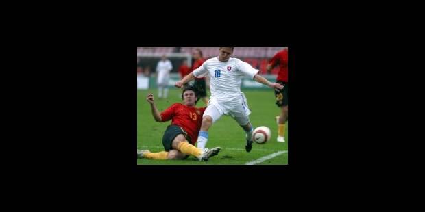 La Belgique fait match nul en Slovaquie - La Libre