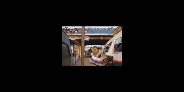 51 blessés dans un accident de train - La Libre