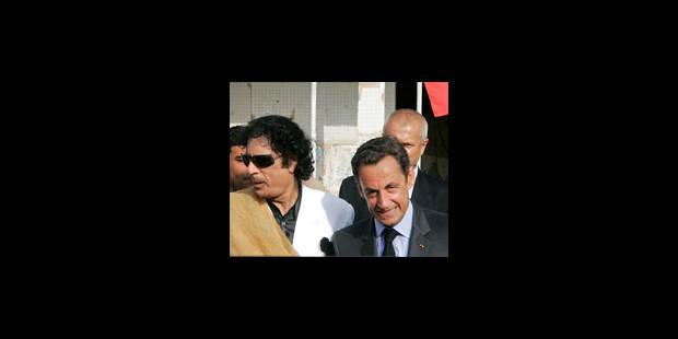 """Sarkozy VRP en Libye """"fréquentable"""" - La Libre"""