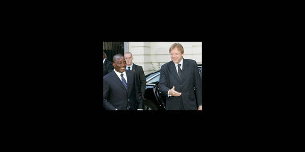 Joseph Kabila reçu par le roi - La Libre