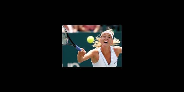 Sharapova et Kuznetsova iront aux JO - La Libre