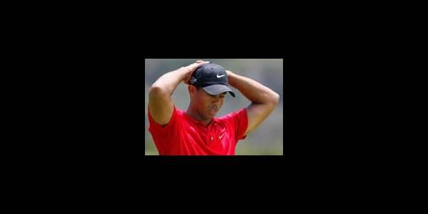 Tiger Woods était bien sur les rotules - La Libre