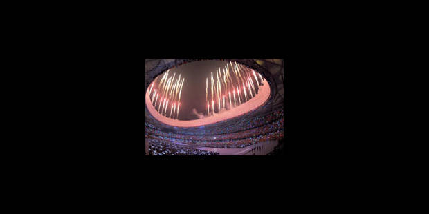18h08: la flamme olympique illumine Pékin - La Libre