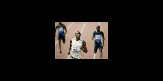 """Monsieur  """"100 000 Bolt"""" est prêt pour le combat - La Libre"""