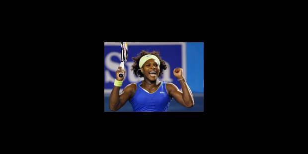 Serena Williams et Safina en finale - La Libre