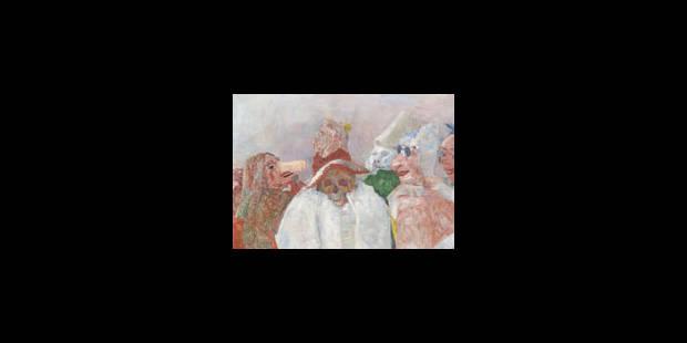 Le déclic de James Ensor - La Libre