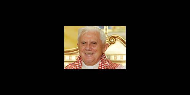 Benoît XVI apporte son soutien aux chrétiens de Terre sainte - La Libre