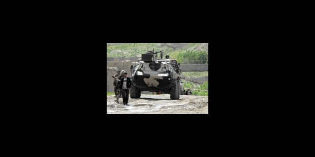 Des militaires belges attaqués par des talibans - La Libre