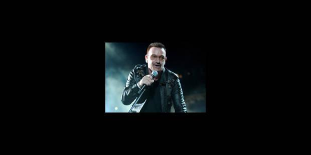 U2 flamboyant à 360 degrés à la ronde - La Libre