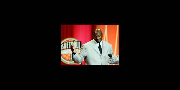 Michael Jordan intronisé au Hall of Fame - La Libre