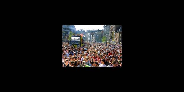 Une centaine de jeunes appréhendées à la City Parade - La Libre