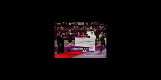 Serena a battu Justine - La Libre