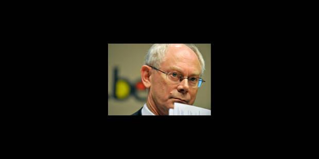 Van Rompuy garde la tête froide - La Libre