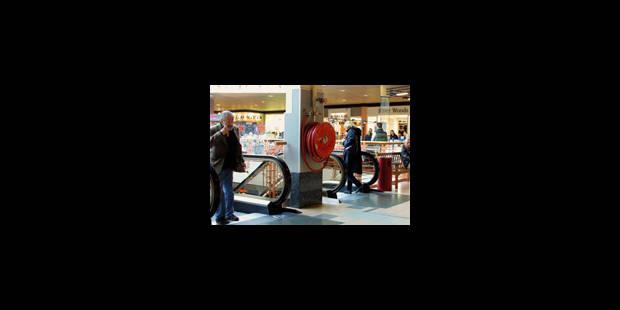 Dimanche d'achats de Noël: affluence en hausse de 1% - La Libre