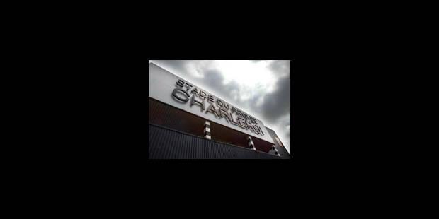 Le match Charleroi-Lokeren de nouveau reporté - La Libre