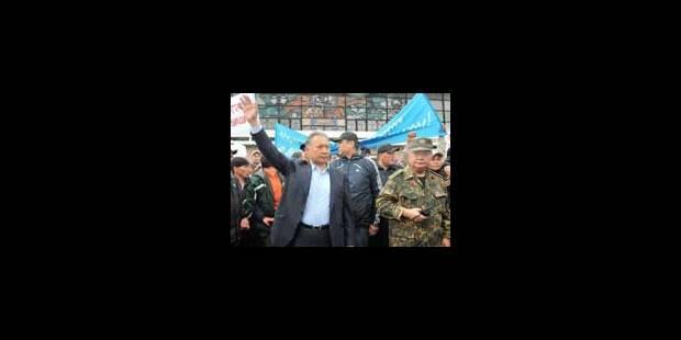 Kirghizstan: les nouveaux dirigeants renforcés après la démission de Bakiev - La Libre