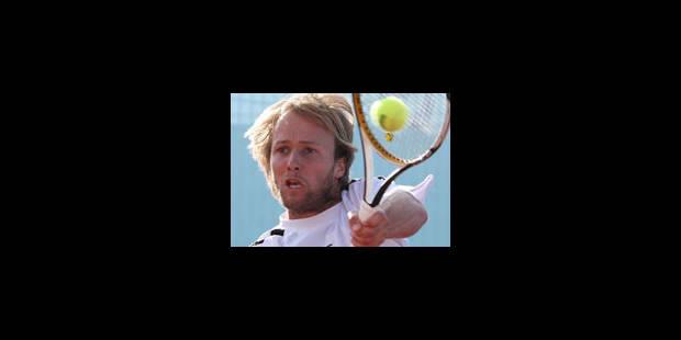Christophe Rochus éliminé au 1er tour des qualifications - La Libre