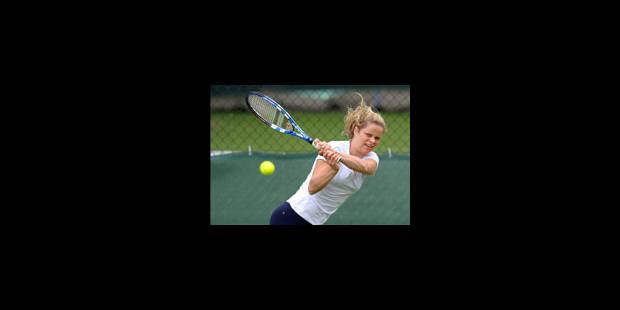 Wimbledon: Clijsters passe facilement le 1er tour - La Libre