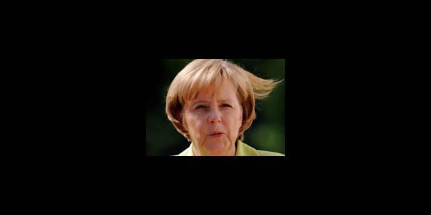 """Merkel: """"Notre équipe d'Allemagne est un modèle d'intégration"""" - La Libre"""