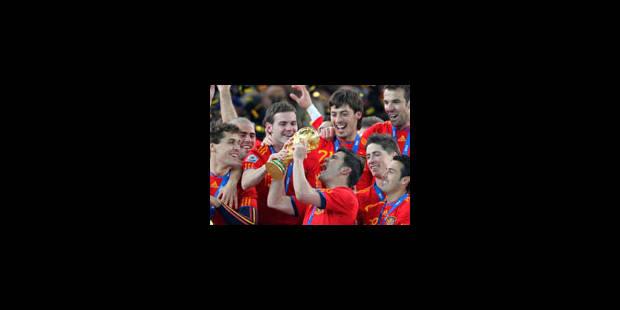 L'Espagne champion du monde le moins prolifique en buts de l'histoire - La Libre
