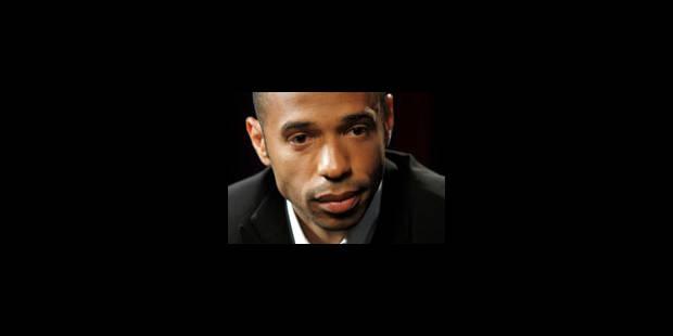 Thierry Henry annonce la fin de sa carrière internationale - La Libre