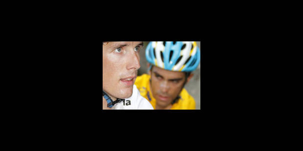 Andy Schleck dompte le Tourmalet mais pas Contador - La Libre