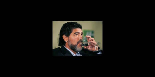 Maradona remercié - La Libre