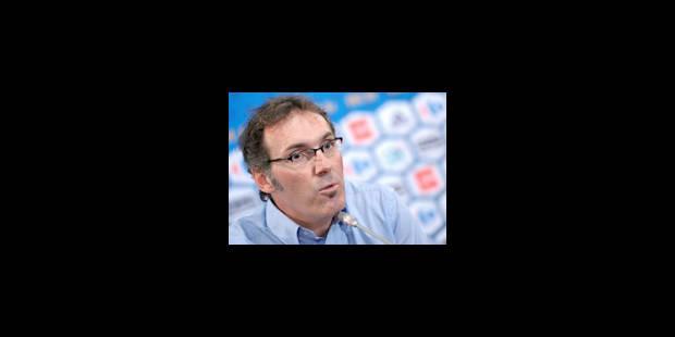 Laurent Blanc dévoile sa sélection pour le match contre la Norvège - La Libre