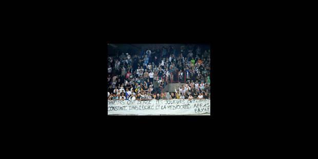 Le Sporting de Charleroi au bord de la crise de nerfs - La Libre