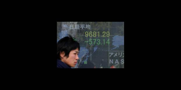 La Banque du Japon injecte 6.000 milliards de yens jeudi sur le marché - La Libre