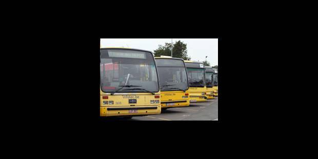 Grève au TEC Charleroi: les bus seront suivis par la police - La Libre