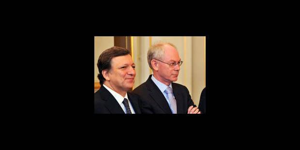 Barroso et Van Rompuy demandent des efforts aux membres du G20 - La Libre