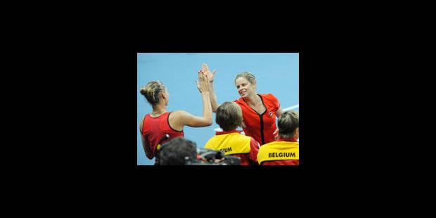 Kim Clijsters forfait pour la Fed Cup - La Libre
