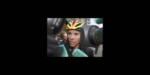 Philippe Gilbert sur le podium de la Flèche wallonne - La Libre