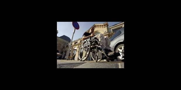 Une société pas encore adaptée aux handicapés - La Libre