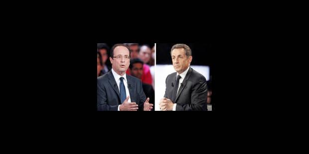 Hollande - Sarkozy: Faux débat, vrai duel! - La Libre
