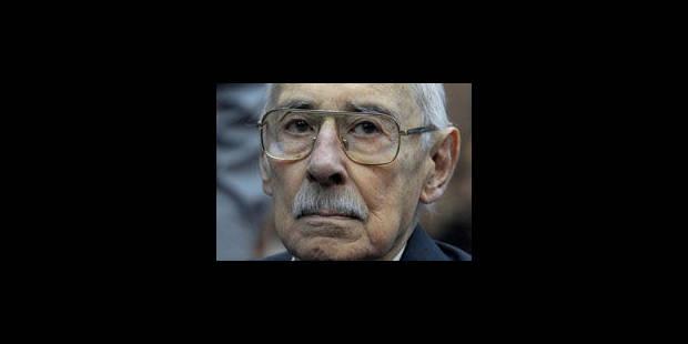 L'ex dictateur argentin Jorge Videla condamné à 50 ans de prison - La Libre