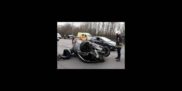 Les accidents de la route coûtent 6,8 milliards d'euros par an à l'Etat - La Libre