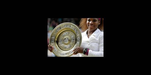 Serena remporte son 5e Wimbledon - La Libre