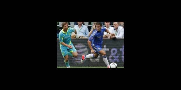 Premier but d'Hazard sous le maillot des Blues - La Libre