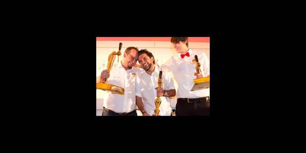 Allaine Schaiko champion de Belgique des serveurs de bière - La Libre