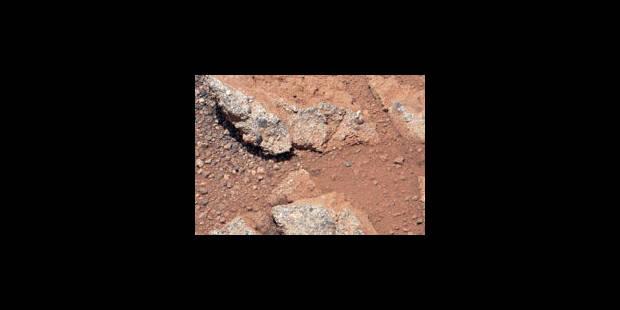 Curiosity analyse une première roche inhabituelle - La Libre