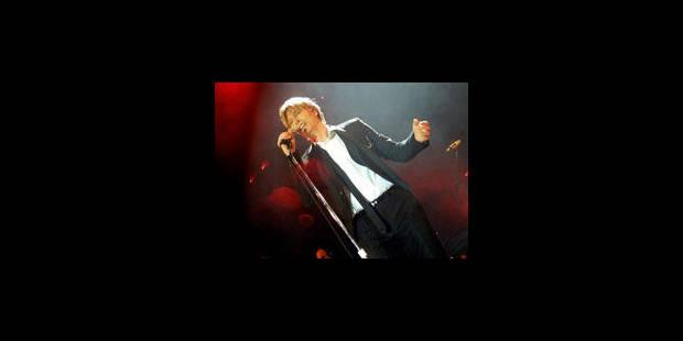 David Bowie revient dans les bacs après dix ans - La Libre