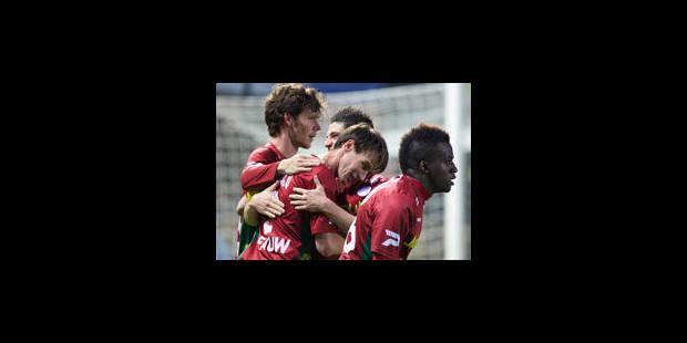 Zulte Waregem refait un retard de 2 buts et reprend la tête - La Libre