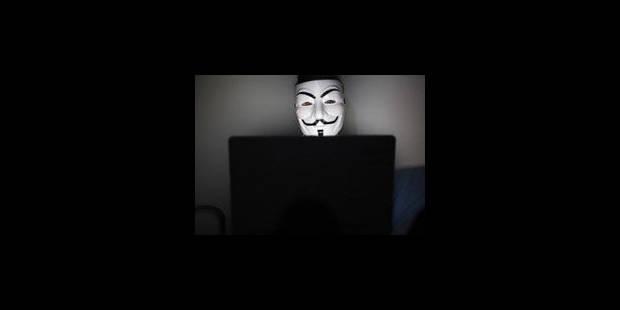 La justice enquête sur le site belge d'Anonymous - La Libre